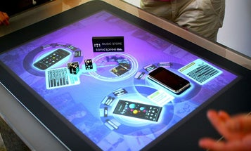 Microsoft Building Shape-Shifting Touchscreen For True Tactile Touch Tech
