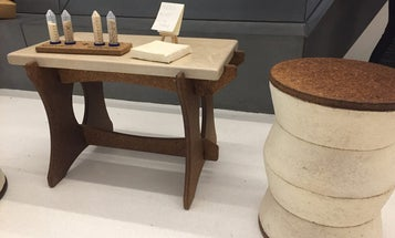 Now you can buy gorgeous furniture made of mushrooms