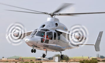Eurocopter Launches X3 Propeller-Powered High-Speed Helicopter, Hopes to Outrace Sikorsky's X2