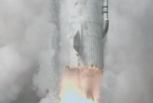 South Korea's Second Attempt at Satellite Launch Explodes Shortly After Liftoff