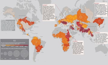 Where Will The World's Water Conflicts Erupt? [Infographic]