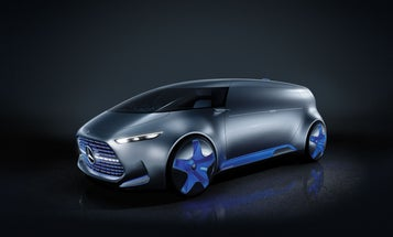 Party On Autopilot With The Mercedes-Benz Vision Tokyo