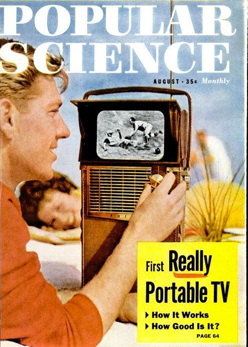 The First Really Portable TV: August 1959