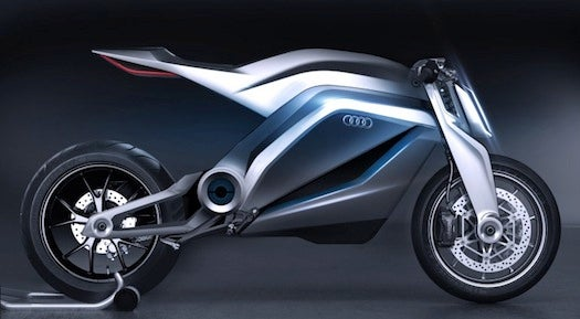An Audi Roadster Motorcycle Concept, Inspired By The Ducati 848