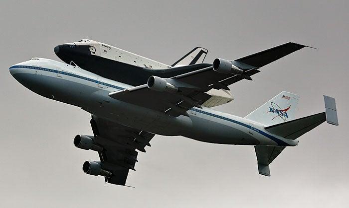 Space Shuttle Enterprise Makes Its Final Flight