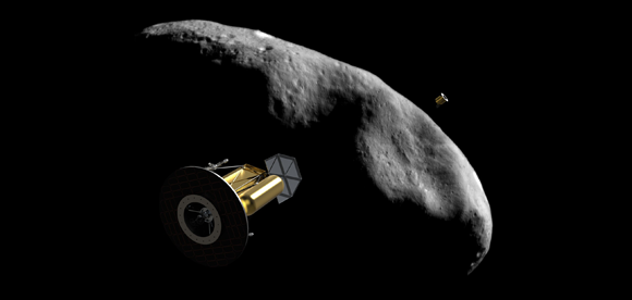 NASA Considers Tugging An Asteroid Into Orbit Around The Moon