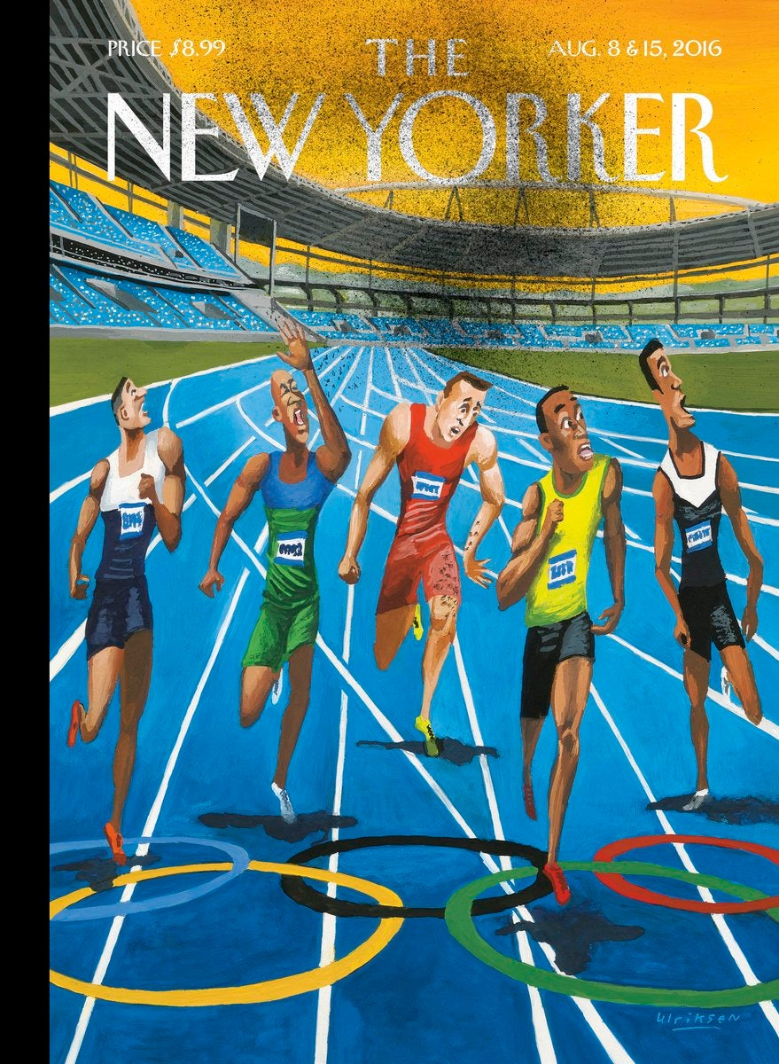'The New Yorker' Cover Highlights Zika Fears At Rio Olympics