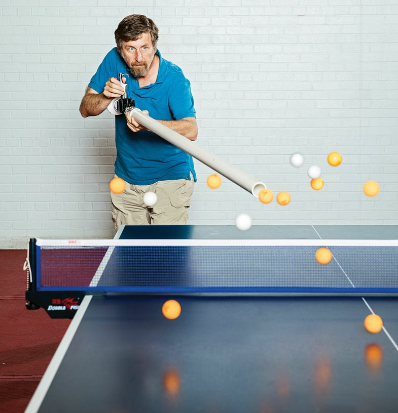 Build A 300-MPH Ping-Pong Cannon
