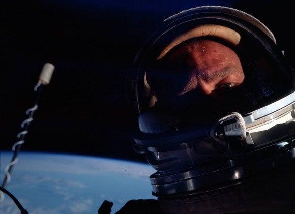 Gemini 12 astronaut Buzz Aldrin