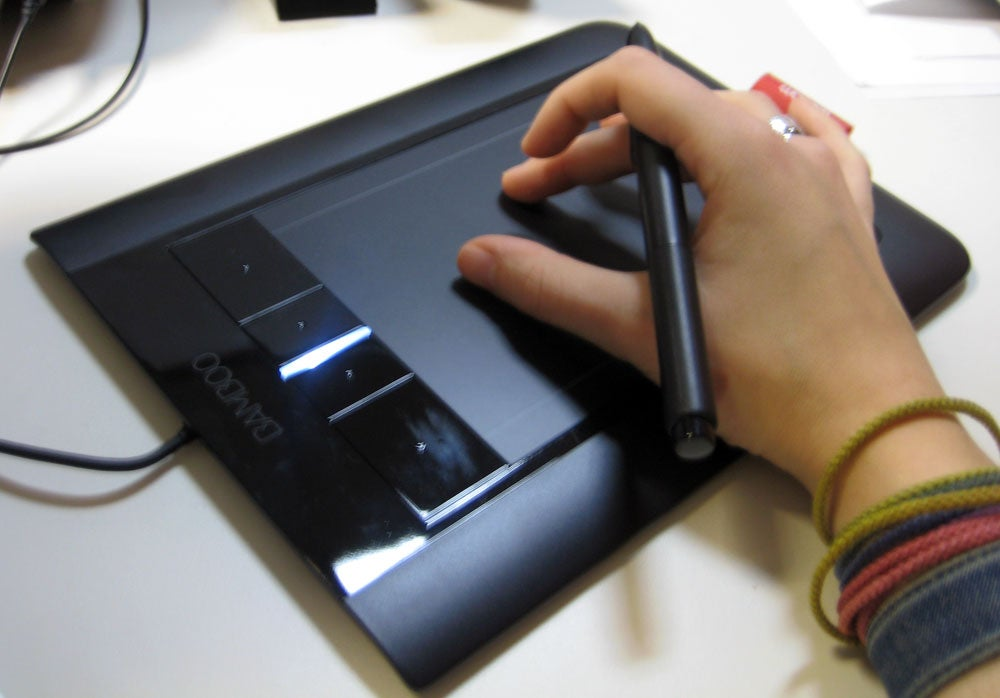 Wacom Intros Bamboo Pen & Touch Multitouch Graphics Tablets