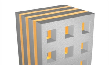 'Nanofishnet' Could Be the First Metamaterial to Impossibly Bend Light in the Visible Spectrum
