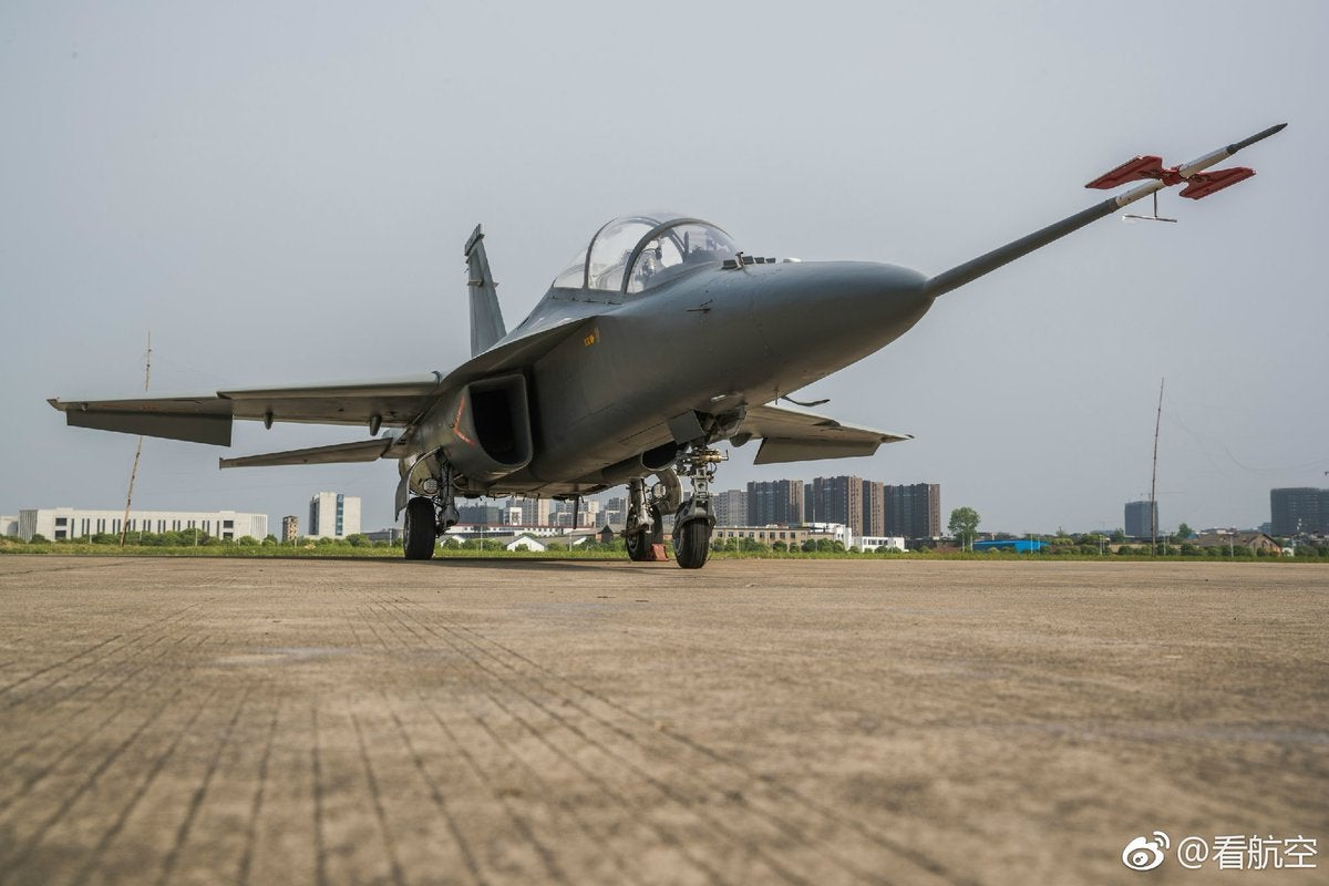China L-15B Jet Trainer CAS Hongdu