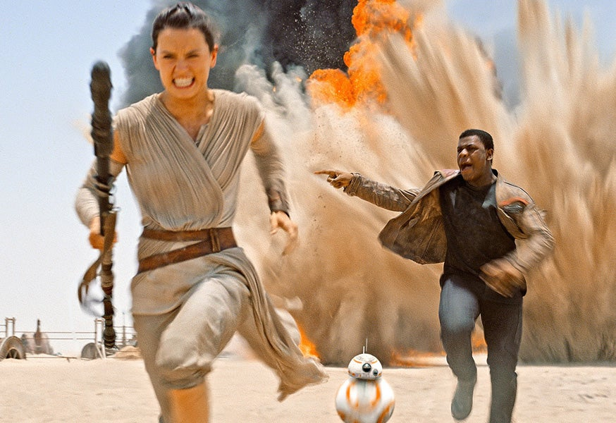 Daisy Ridley Announces Wrap Of 'Star Wars Episode VIII'