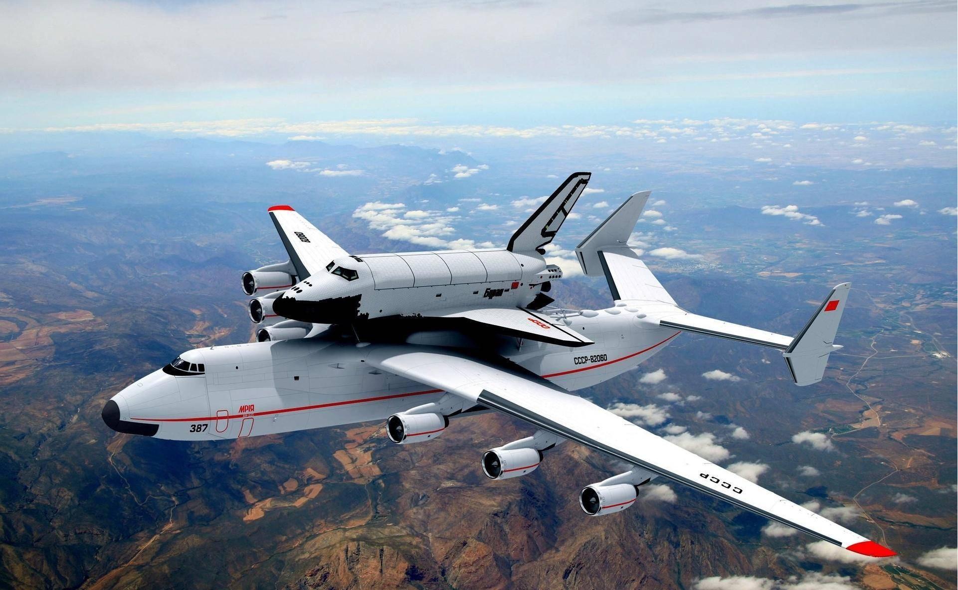Antonov An-225 Buran Space Shuttle