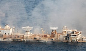 Recycling a Warship Into A Giant Artificial Reef