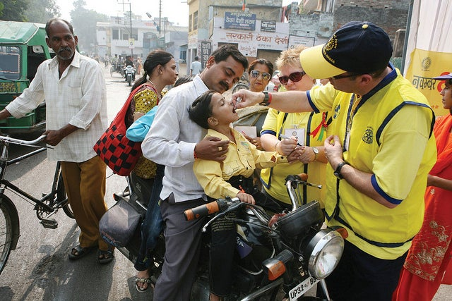 Reemergence Of Polio Is A Global Health Risk