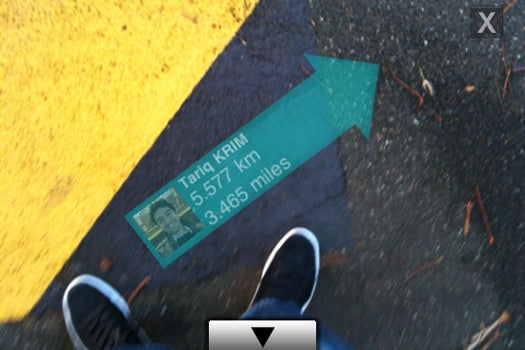 Find Your Twitter Friends In Real Life With an Augmented Reality iPhone App