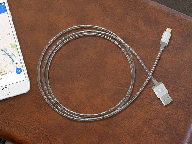 These metal-braided toughlink lightning cables will outlast your phone