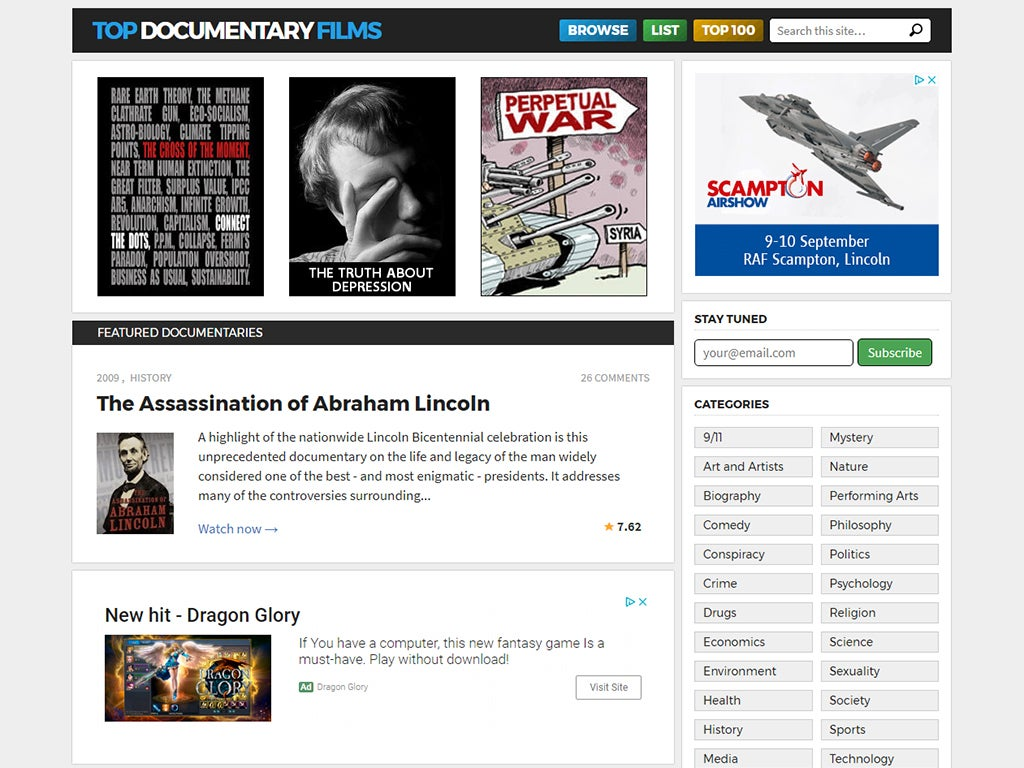 Top Documentary Films