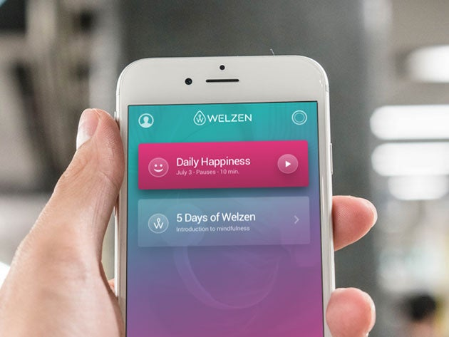 Welzen helps you find inner happiness through meditation