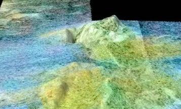 Cassini Spots a Giant Ice Volcano on Saturn's Titan Moon