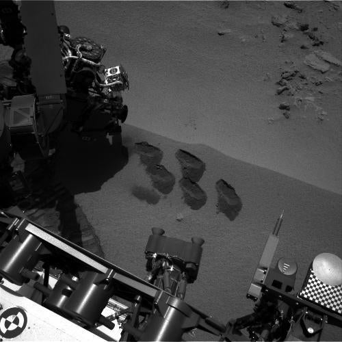 No Organics Yet For Mars Rover Curiosity, NASA Warns