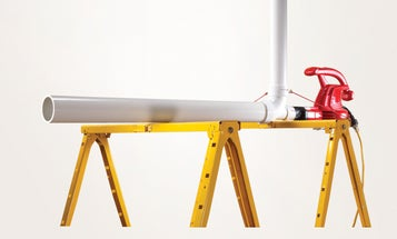 How To Build A Cannon That Shoots Wiffle Balls At 50MPH [Video]