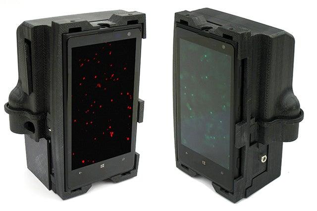 Two smartphone microscopes