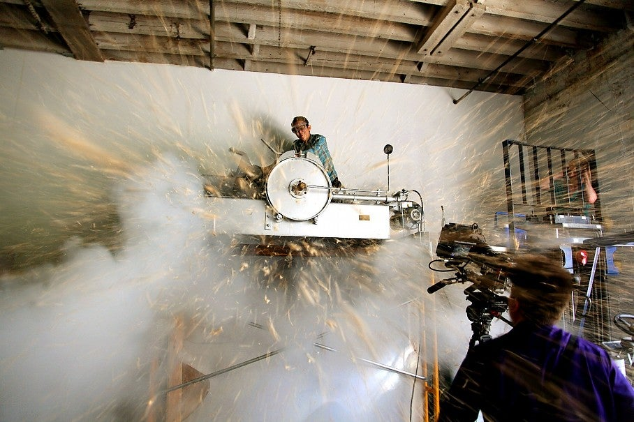 Video: Rice Puffs Explode From A Giant Cannon