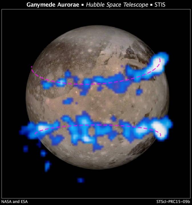 Ganymede Aurora