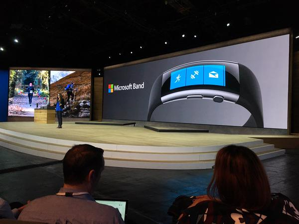 Microsoft Unveils New Band Wearable At Windows 10 Event