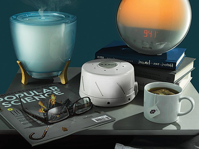 Nightstand essentials to help you fall asleep