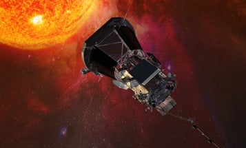 NASA's sun-kissing probe gets a hot new name