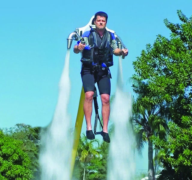 A Water-Powered Jetpack