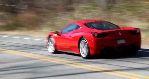 Testing the Best: Driving Fast in the Ferrari 458 Italia