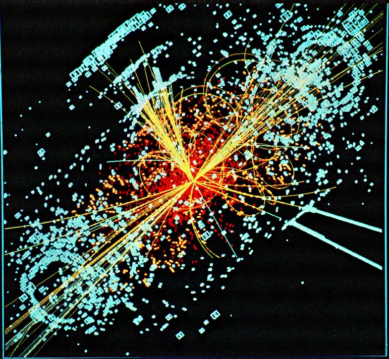 Fresh Data From CERN and Tevatron Gives A Glimpse of the God Particle