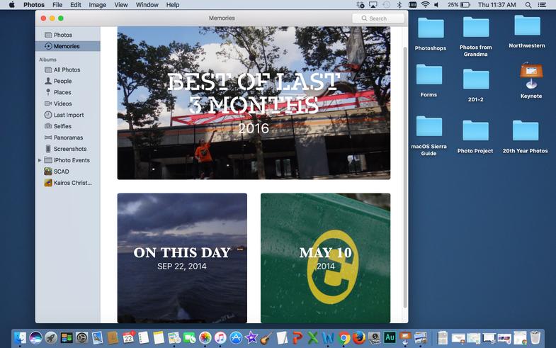Your Memories in the Photos App