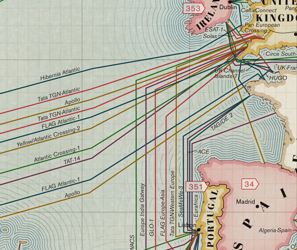 All Of The World's Undersea Cables In One Map