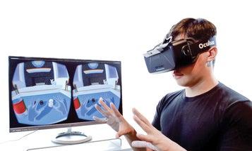 A Hand-Tracking Sensor For Virtual Reality Headsets