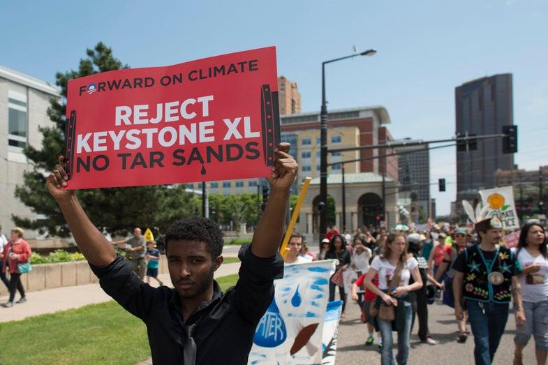 Keystone XL Protestors
