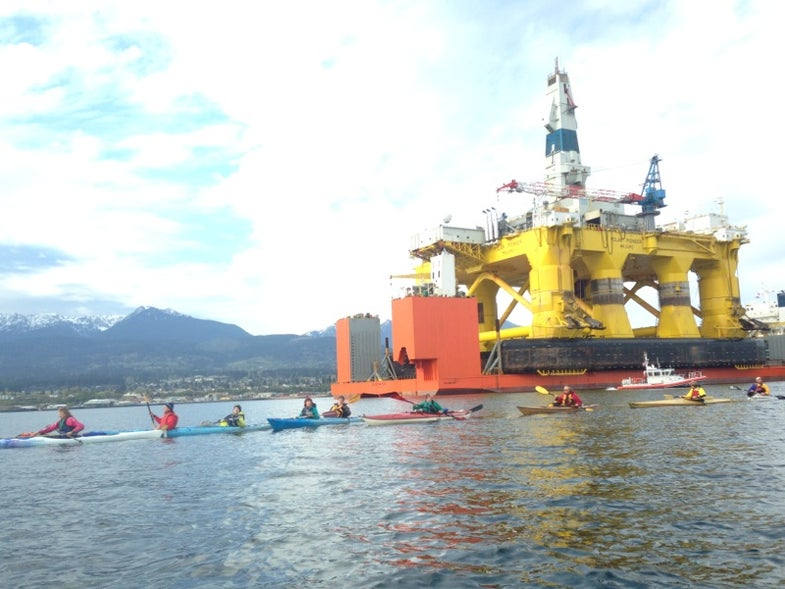 Greenpeace Banned From Flying Drones Near Arctic Oil Rigs