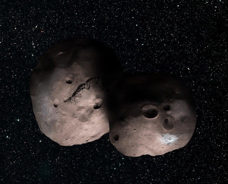 MU69 as two objects
