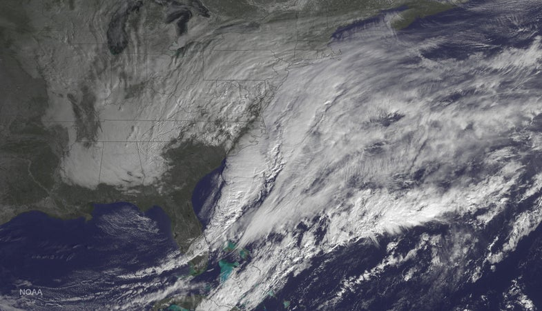 This Is What The Blizzard Of 2015 Looks Like From A Satellite