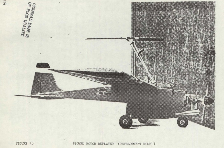 Check Out This Giant NASA Drone Study From 1976
