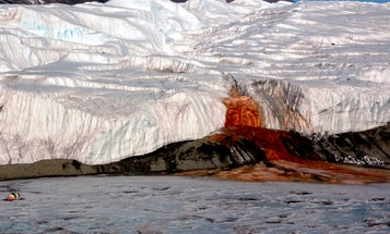 Antarctica's Blood Falls: not so mysterious, but still freaky as heck
