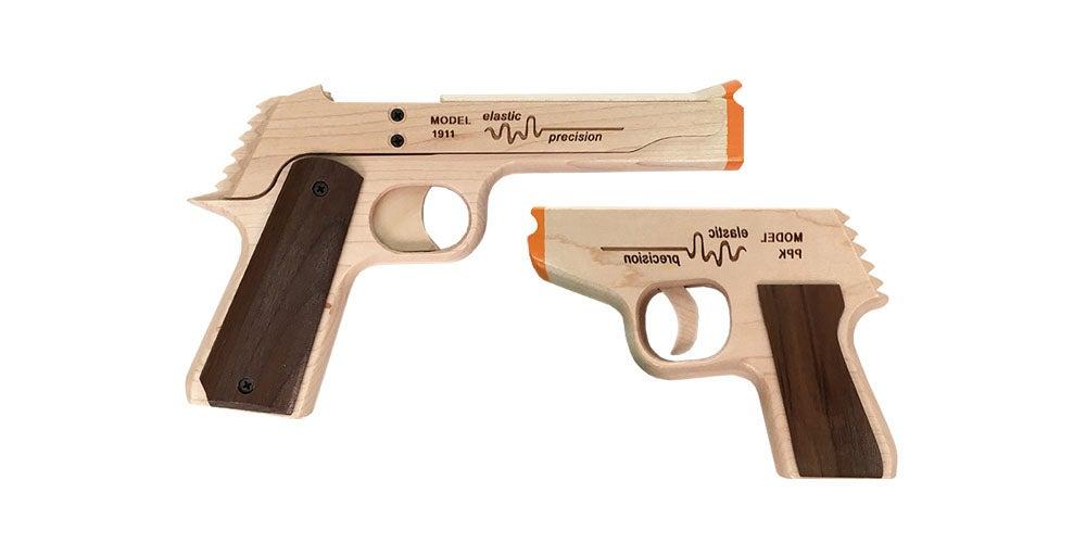 Model PPK Rubber Band Gun