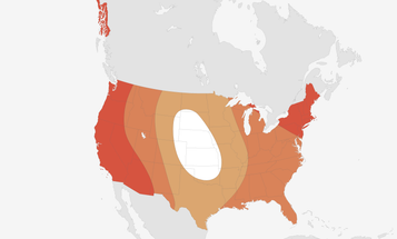 In U.S., Only The Midwest Will be Spared Extreme Heat This Summer