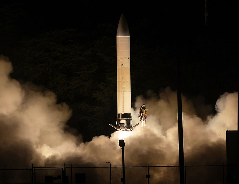 Army's Hypersonic Missile Explodes During Testing