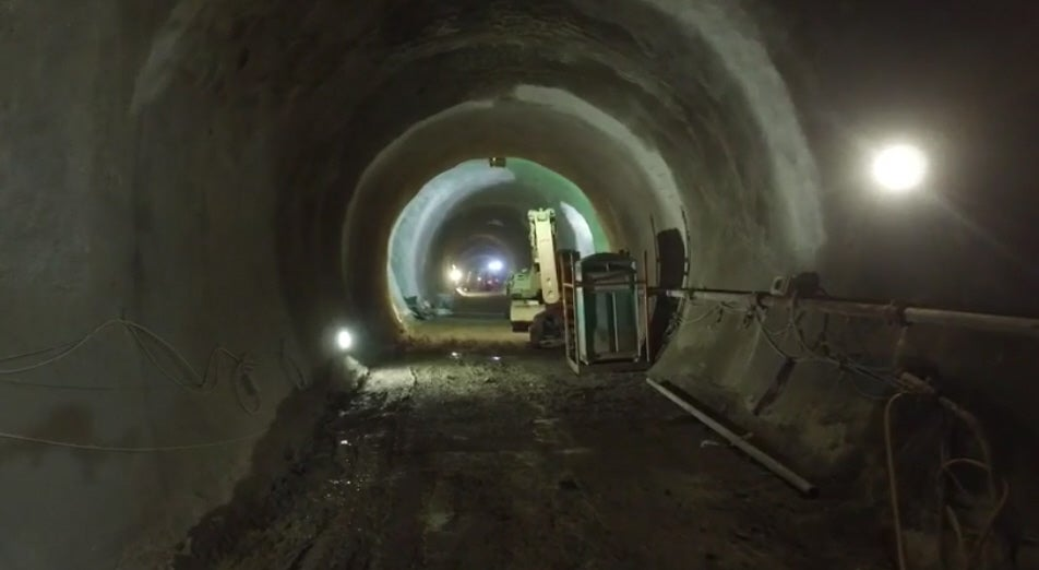 Watch This Drone Explore Underground Tunnels Beneath London