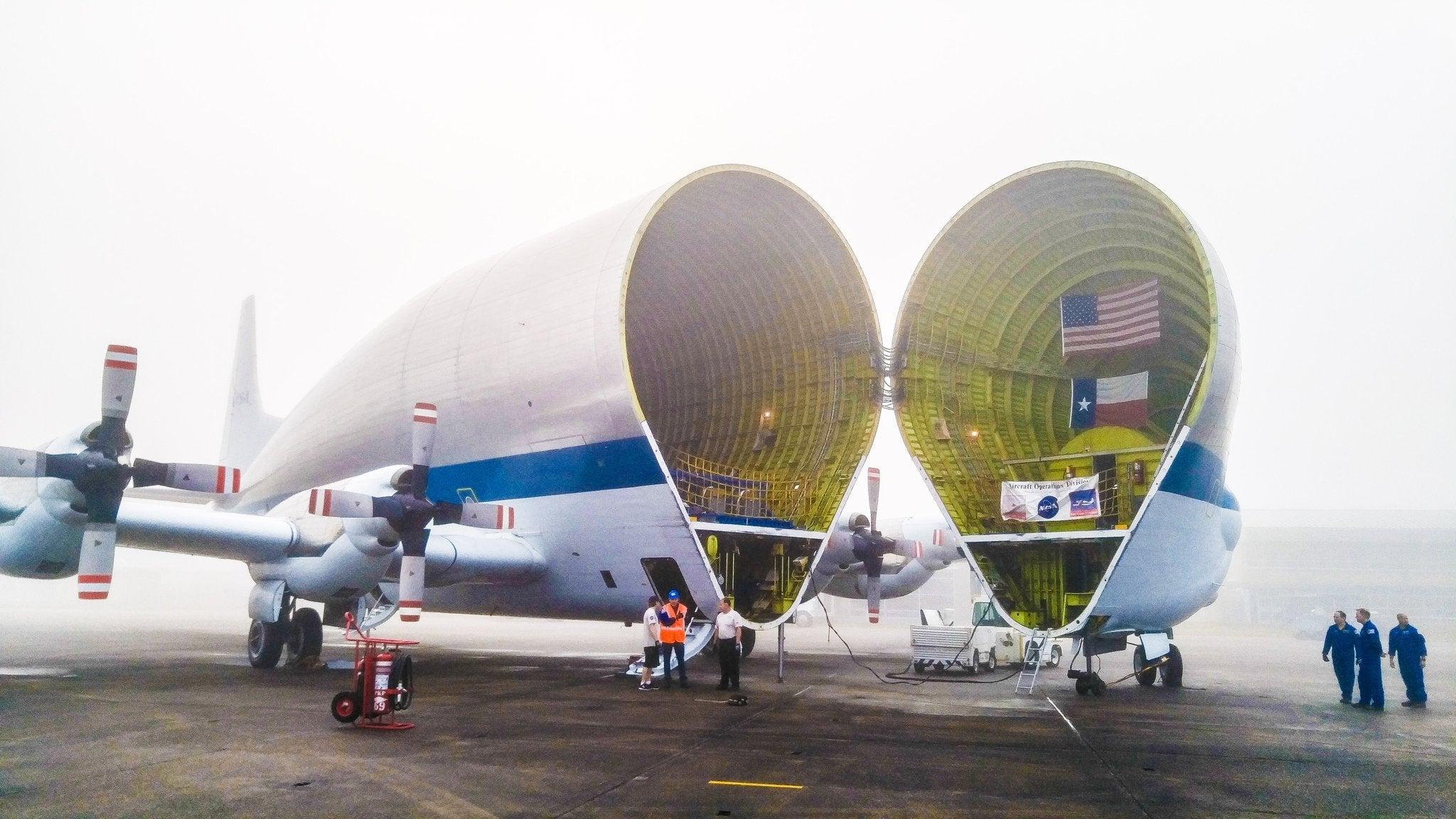 NASA's Weird Giant Airplane Carried The Future Of Mars In Its Belly
